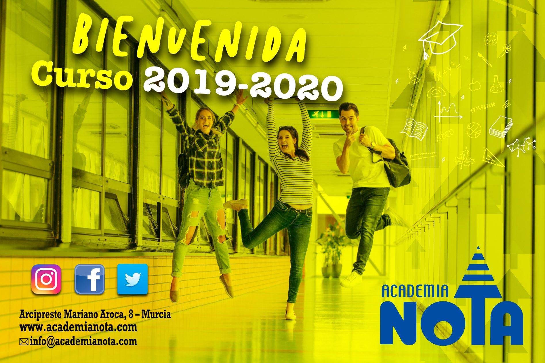 Bienvenida curso académico 2019-2020